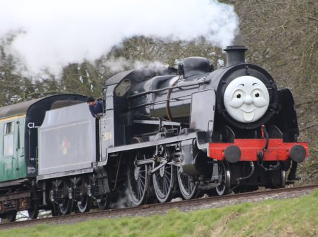 2013 Day out with Thomas - Watercress Line - Bowers Grove Lane - Ex-SR U class - 31806