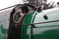 2013 Great Spring Steam Gala - Watercress Line - Ropley - N15 King Arthur class - 777 - Sir Lamiel cab spactacle
