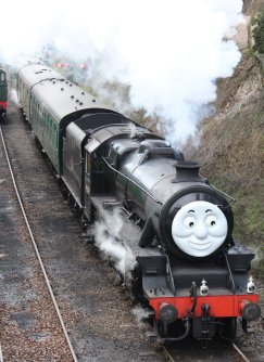 2013 Day out with Thomas - Watercress Line - Ropley - Ex-LMS Black 5 - 45379
