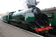 2013 Great Spring Steam Gala - Watercress Line - Ropley - N15 King Arthur class - 777 - Sir Lamiel
