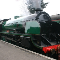 2013 Great Spring Steam Gala - Watercress Line - Ropley - N15 King Arthur class - 777 - Sir Lamiel