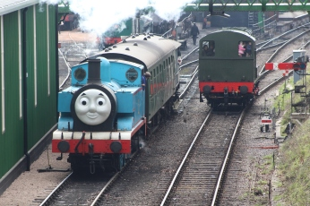 2013 Day out with Thomas - Watercress Line - Ropley - Ex-Austerity class - 1 Thomas & class 11 shunter 12049