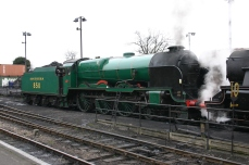 2013 Great Spring Steam Gala - Watercress Line - Ropley - 850 Lord Nelson