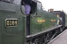 2013 Great Spring Steam Gala - Watercress Line - Ropley - GWR 5101 class Prairie Tank - 5164