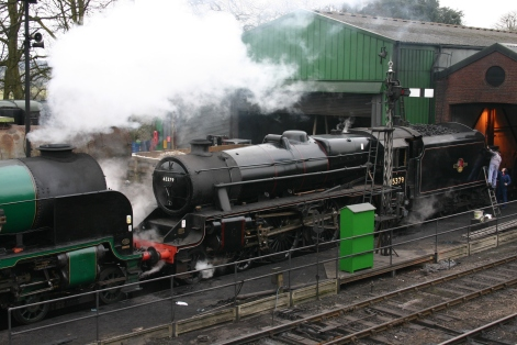 2013 Great Spring Steam Gala - Watercress Line - Ropley - Ex-LMS Black 5MT - 45379 & 850 Lord Nelson