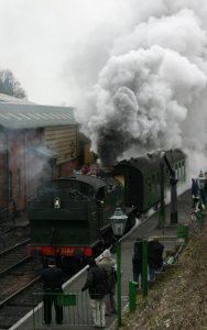 2013 Great Spring Steam Gala - Watercress Line - Ropley - GWR 5101 class Prairie Tank - 5164
