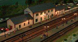 2013 - Solent Model Railway Group - Eurotrack Model Exhibition - Courcynière