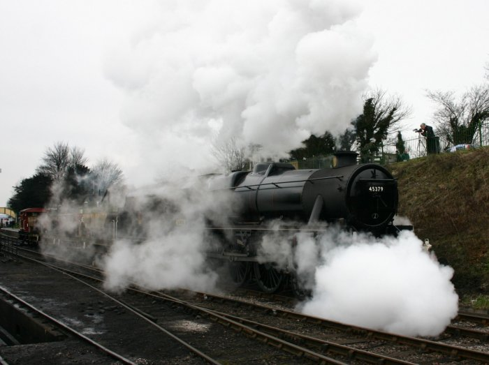 2013 Great Spring Steam Gala - Watercress Line - Ropley - Ex-LMS Black 5MT - 45379