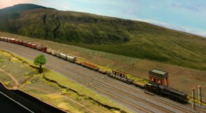 2013 - Solent Model Railway Group - Eurotrack Model Exhibition - Batty Moor