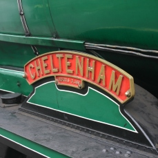 2013 Great Spring Steam Gala - Watercress Line - Ropley - Schools class V - 925 Cheltenham