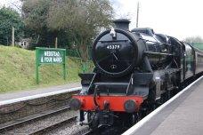 2013 Great Spring Steam Gala - Watercress Line - Medstead & Four Marks - Ex-LMS Black 5MT - 45379