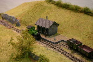 2013 - Solent Model Railway Group - Eurotrack Model Exhibition - Benter Railway