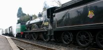 2013 Great Spring Steam Gala - Watercress Line - Medstead & Four Marks - T9 class - 30120 & Schools V - 925 Cheltenham