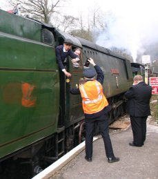 2013 Great Spring Steam Gala - Watercress Line - Medstead & Four Marks - Unrebuilt West Country class - 34007 Wadebridge