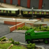 2013 - Solent Model Railway Group - Eurotrack Model Exhibition - Burnbridge