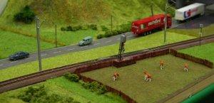2013 - Solent Model Railway Group - Eurotrack Model Exhibition - Martenex-Marigny