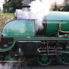 2013 Great Spring Steam Gala - Watercress Line - Alresford - N15 King Arthur class - 777 - Sir Lamiel