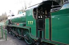 2013 Great Spring Steam Gala - Watercress Line - Alresford - N15 King Arthur class - 777 - Sir Lamiel