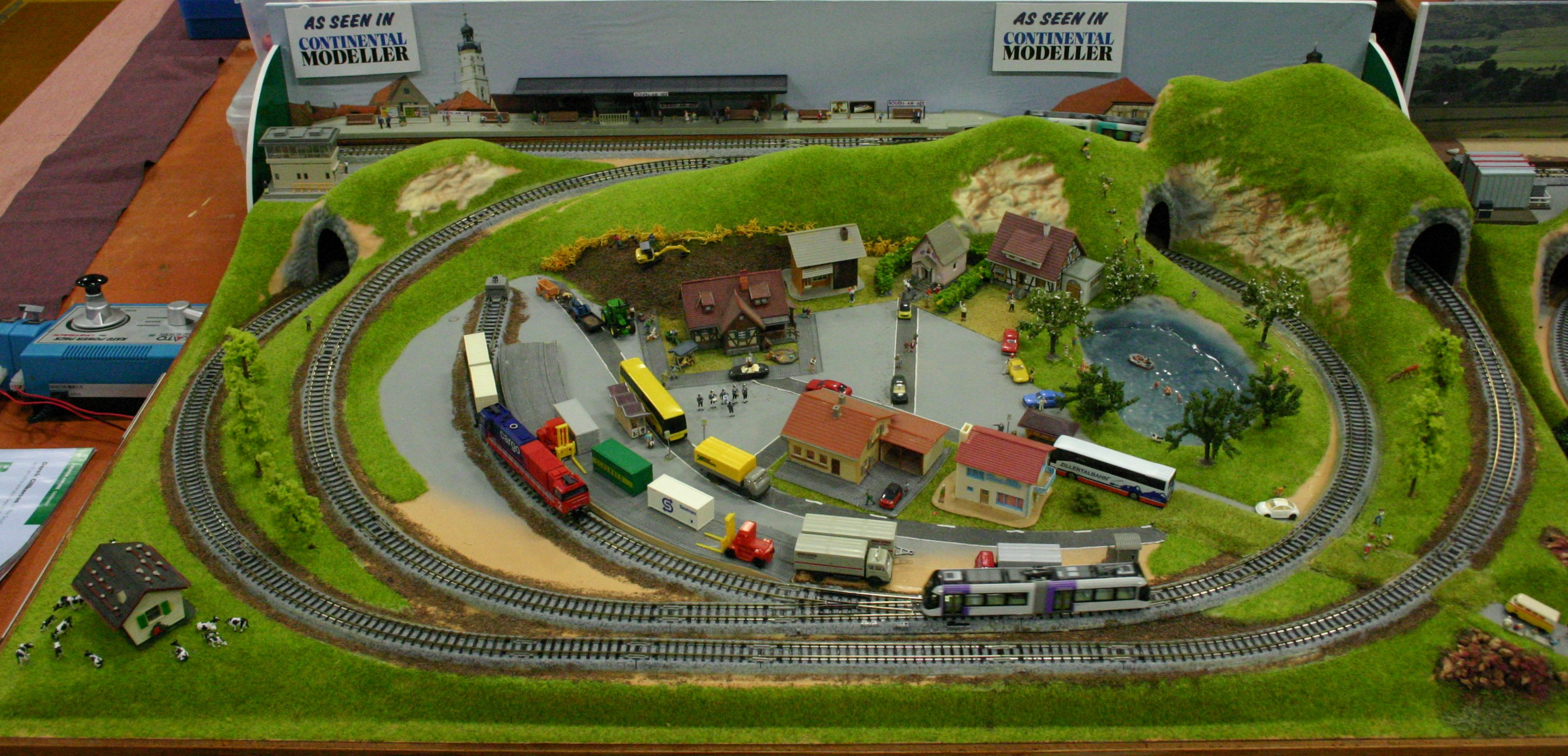 2013 Solent Model Railway Group Eurotrack Model