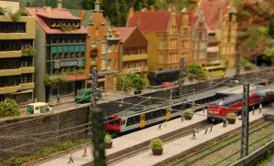 2013 - Solent Model Railway Group - Eurotrack Model Exhibition - Unserstadt