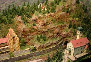 2013 - Solent Model Railway Group - Eurotrack Model Exhibition - Unserstadt