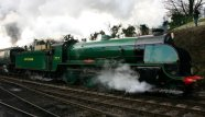 2013 Great Spring Steam Gala - Watercress Line - Ropley - N15 777 Sir Lamiel & Unrebuilt West Country 34007 Wadebridge
