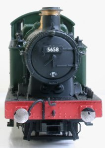 Bachmann Ex-GWR 56xx class - 5658 (face smokebox)