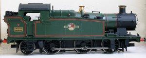 Bachmann Ex-GWR 56xx class - 5658 (profile)