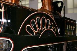 Grand Junction Railway locomotive Columbine - Science Museum - NRM National Collection