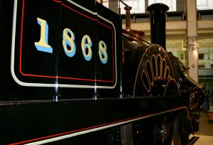 Grand Junction Railway locomotive Columbine - Science Museum - NRM National Collection