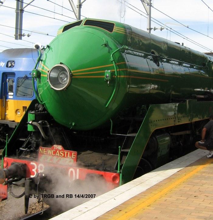 NSWGR C 3801 - copyright Thomas Barnes