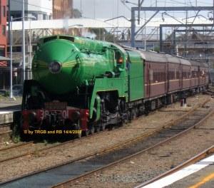 NSWGR C 3801 - 3801 arrives in Newcastle - copyright Thomas Barnes