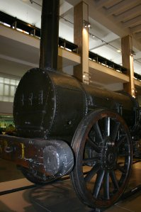 Stephenson's Rocket - The Science Museum - Remains of - original NRM National Collection (1)