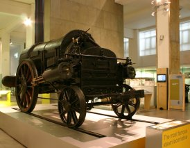 Stephenson's Rocket - The Science Museum - Remains of - original NRM National Collection