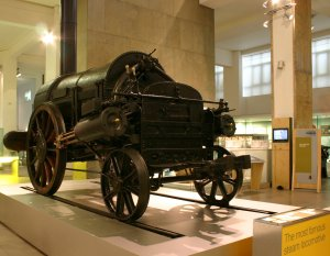 Stephenson's Rocket - The Science Museum - Remains of - original NRM National Collection (2)