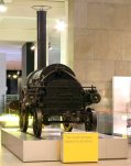 Stephenson's Rocket - The Science Museum (Remains of - original NRM National Collection)