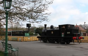 2013 - Isle of Wight Steam Railway - Havenstreet - Ex-LBSCR E1 class - 32110