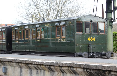 2013 - Isle of Wight Steam Railway - Havenstreet - Southern Carriage 4112