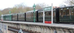 2013 - Isle of Wight Steam Railway - Havenstreet - Southern carriage rake