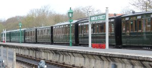 2013 - Isle of Wight Steam Railway - Havenstreet - Southern carriage rake
