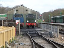 2013 - Isle of Wight Steam Railway - Havenstreet - WD198 Royal Engineer