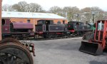 2013 - Isle of Wight Steam Railway - Havenstreet - Invincible Ajax & W24 Calbourne