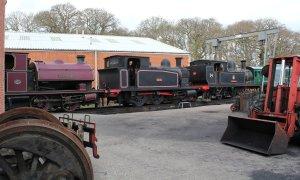 2013 - Isle of Wight Steam Railway - Havenstreet - Invincible Ajax & W24 Calbourne