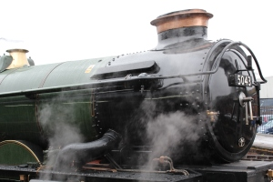 2013 The Moonraker Mainline Tour - Salisbury - GWR 4073 Castle Class - 5043 Earl of Mount Edgcumbe
