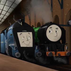 The British Railway Stories - 60114 WP Allen & 60006 Sir Ralph Wedgwood - copyright Simon Martin