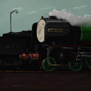 The British Railway Stories - 60114 WP Allen - copyright Simon Martin