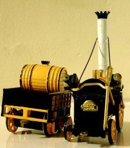 Corgi - Stephenson's Rocket (2)