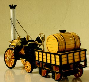 Corgi - Stephenson's Rocket (3)