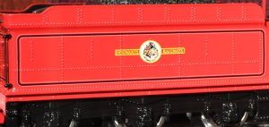 Harry Potter - 5972 Hogwarts Express - Hogwarts Castle (tender - emblem)