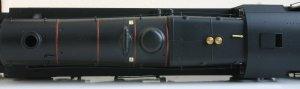 Hornby Ex-LMS Black 5 - 44932 - super detail version (top view)